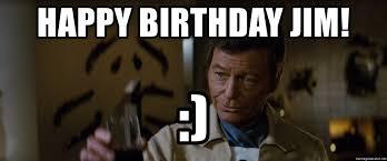 Star Trek Happy Birthday Meme - happy birthday jim happy birthday jim star trek meme generator