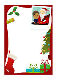 free printable writing paper to santa letter to santa christmas notepaper free early years primary