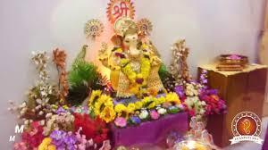Home Ganpati Decoration Madhav Loharuka Home Ganpati Decoration Video U0026 Ideas Www
