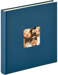 self adhesive album self adhesive photo album blue fotoalben discount de