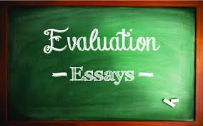 how to write an evaluation paper with sample essays letterpile
