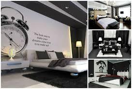 deco chambre et blanc déco noir et blanc avec touches de couleur chambre à coucher