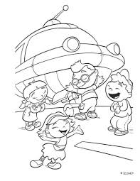 einsteins rocket coloring pages hellokids
