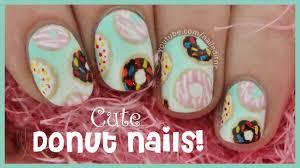 donut nail art youtube