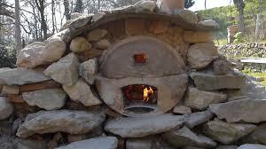 wilderness oven make a stone oven backyard wilds