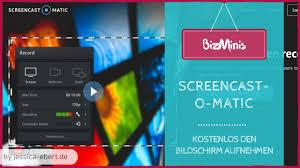 kostenloses design programm kostenloses screencast programm screencast o matic vorgestellt