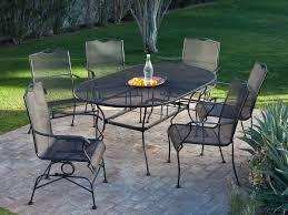 7 Piece Patio Dining Set - patio 40 patio dining table