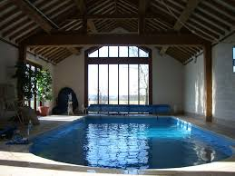 small indoor pools vintage residential indoor pool inspiration feat wooden beam