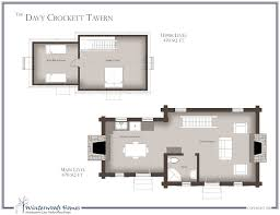 Historical House Plans The Davy Crockett Tavern Cottage Style House Plan Winterwoods Homes
