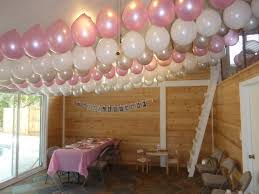 home decor amazing balloon decoration for birthday party at home