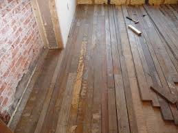 Uneven Wood Floor Floor Finishing Chad U0027s Crooked House