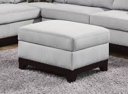 Grey Fabric Storage Ottoman Grey Fabric Ottoman A Sofa Furniture Outlet Los Angeles Ca