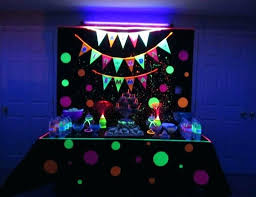 glow party supplies neon glow in the party decorations party supplies