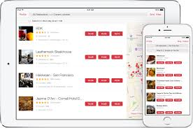 open table reservation system mobile apps us opentable