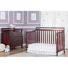 Walmart Convertible Cribs On Me Liberty 5 In 1 Convertible Crib Cherry Walmart