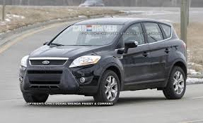 Ford Escape 2013 - 2013 ford escape spy photos ford escape crossover news u2013 car and