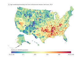 New Mexico Zip Code Map by Where You Live Determines What Kills You Nbc News
