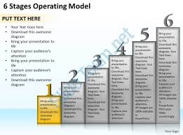 operating model template 1013 business ppt diagram 6 stages operating model powerpoint