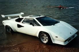 crashed lamborghini countach this lamborghini countach can swim carsguide oversteer