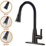 Kohler Bronze Kitchen Faucets Amazon Com Oil Rubbed Bronze Kitchen Sink Faucets Kitchen