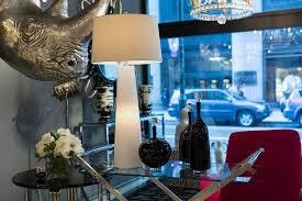 Luxe Home Design Inc White Light Obelisk Table Lamp With Night Light Lamp Works Inc