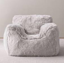 restoration hardware beanbag chair elegant luxe faux fur bean bag