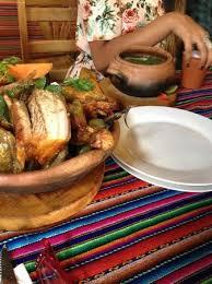 la cuisine de ricardo pachamanca and sopa de cabeza picture of la casita de ricardo
