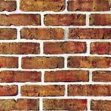 brick self adhesive wallpaper vintage natural pvc peel stick vinyl