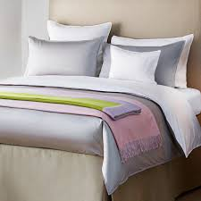 silver classic luxury 500 thread count egyptian satin cotton bed linen