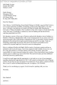 Inquiry Cover Letter Event Consultant Cover Letter