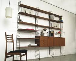 design regalsysteme magasin möbel teak string regalsystem 202