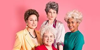 4 women dress up as golden girls