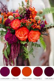 fall wedding bouquets hypericum berry wedding flowers for autumn wedding