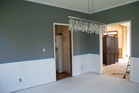 dining room chair rail ideas dining room paint colors with chair rail home interior and