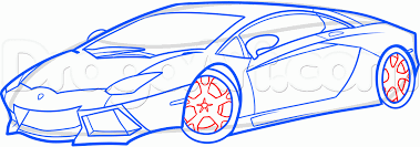 lamborghini logo sketch how to draw a lamborghini aventador lamborghini aventador step
