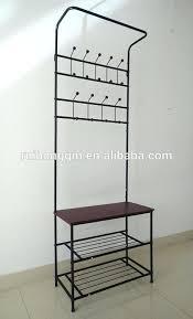 storage coat rack bench entryway bench with coat rack storage