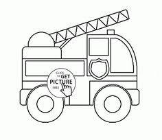 ambulance car numbers coloring kids transportation