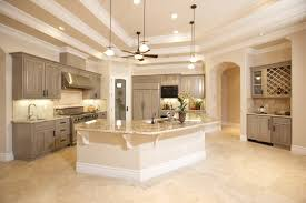 ivory travertine kitchen white mosaic