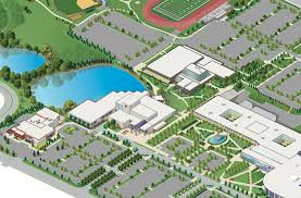 Scc Campus Map College Of Dupage Map My Blog