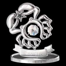 zodiac ornaments silver steel