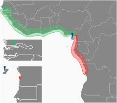 Map Of Western Africa by Genome Wide Divergence In The West African Malaria Vector
