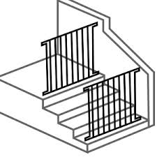 Gate For Top Of Stairs With Banister Qdos Safety Top Of Stairs Baby Gates Baby Gate For Stairs