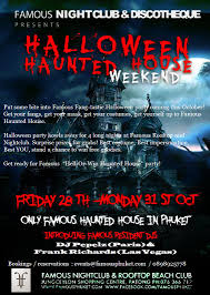 haunted halloween party famous phuket acronautic