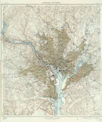 Virginia State Map A Large Detailed Map Of Virgi by Large Scale Detailed Map Of Washington And Vicinity District Of