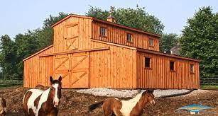 monitor modular horse barn monitor barn horizon structures