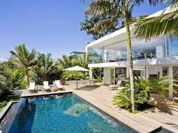l shape white color interior home painters pool mediterranean
