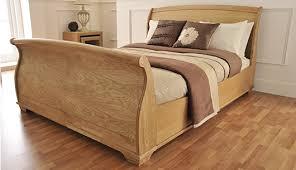Sleigh King Size Bed Frame Boston Ash Veneer Sleigh Size Bed Frame A Modern Classic