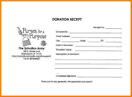 8 non profit donation receipt template restaurant receipt