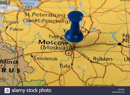 Moscow On Map Moscow Map Stock Photos U0026 Moscow Map Stock Images Alamy