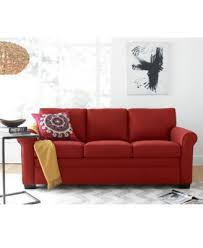 Orange Sofa Bed kenzey sofa bed queen sleeper created for macy u0027s furniture macy u0027s